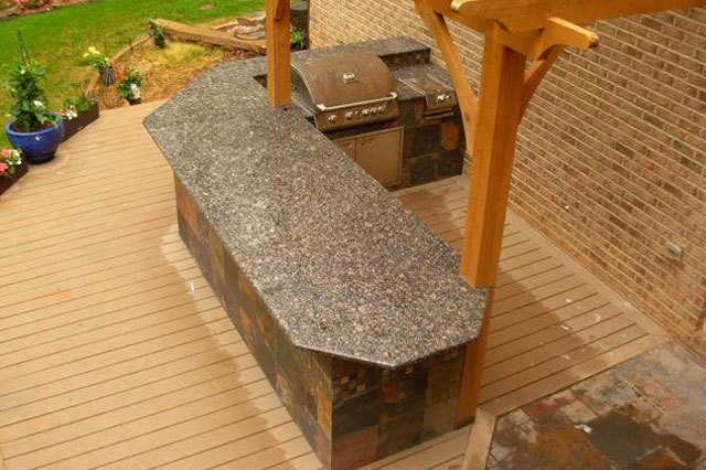The Lebel Outdoor Kitchen