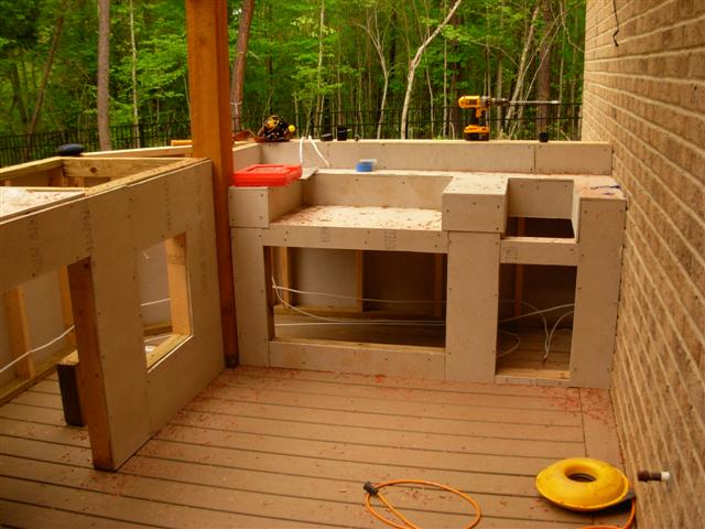 The Lebel Outdoor Kitchen - Chapel Hill Construction - Chapel Hill, NC